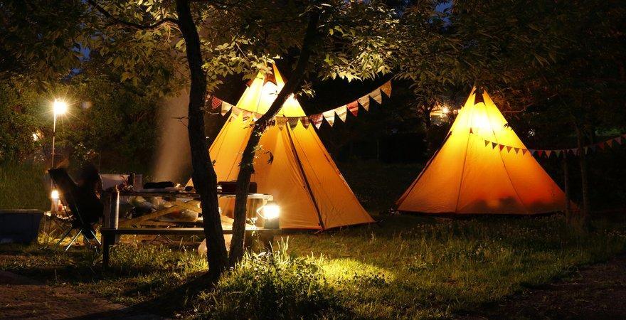solar lantern camping