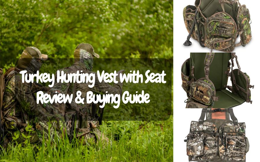 Best Turkey Hunting Vest With Seat Review Buying Guide February 2021